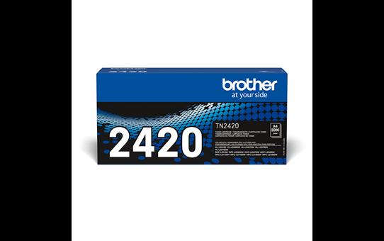 Cartouche de toner Brother authentique TN-2420 - Noir
