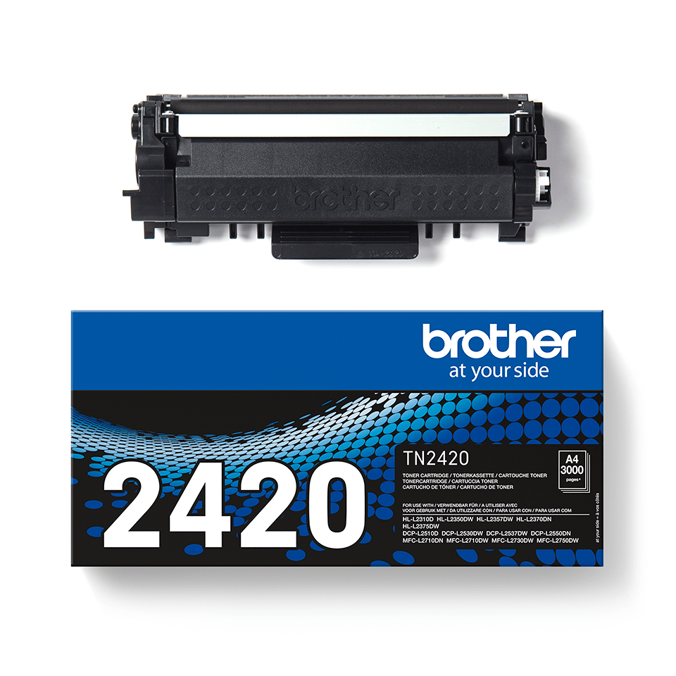 Original Brother TN-2420 Tonerkassette – Schwarz 3
