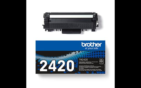 Original Brother TN-2420 Tonerkassette – Schwarz 3