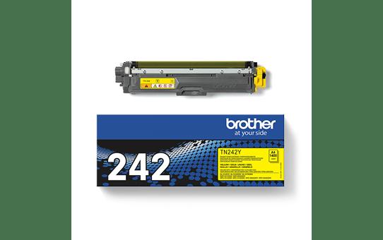 Brother TN-242Y Tonerkartusche – Gelb 3