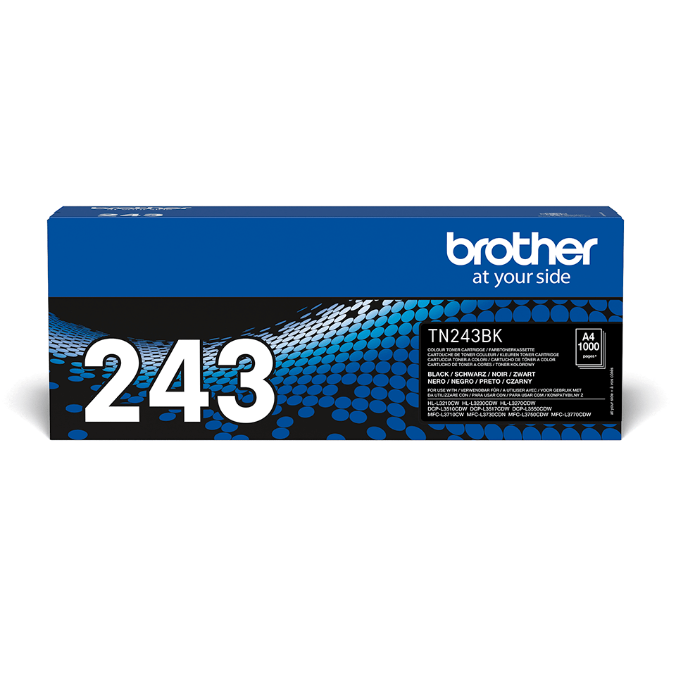 Brother TN243BK black toner cartridge