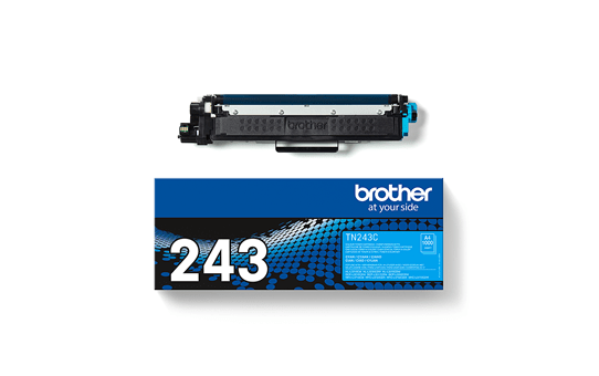 Genuine Brother TN-243C Toner Cartridge - Cyan 3