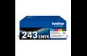 Genuine Brother TN-243CMYK Toner Value Pack