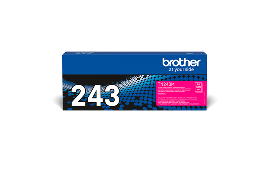 Cartouche de toner TN-243M Brother originale – magenta