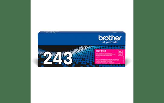 Оригинална тонер касета Brother TN-243M – червен цвят