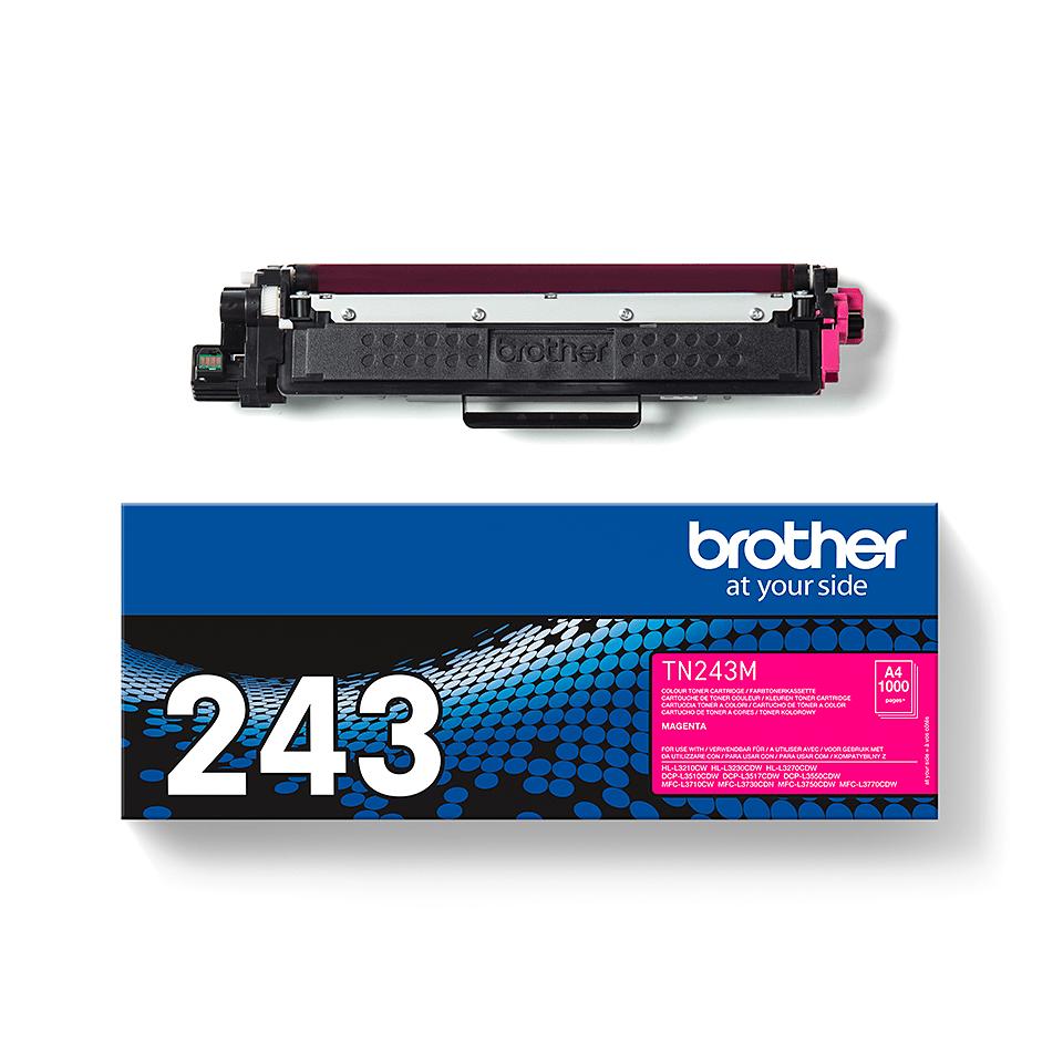 Genuine Brother TN-243M Toner Cartridge - Magenta 3