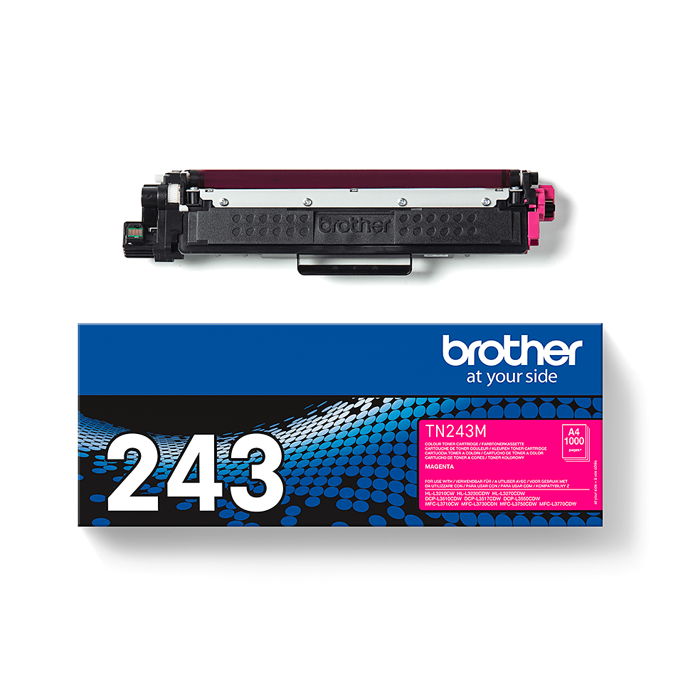 Cartuș de toner original Brother TN-243M - Magenta 3