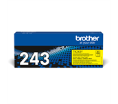 TN243Y Brother genuine toner cartridge pack front image