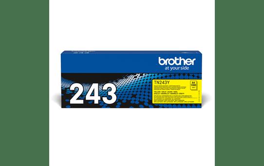 Original Brother TN-243Y Tonerkassette – Gelb