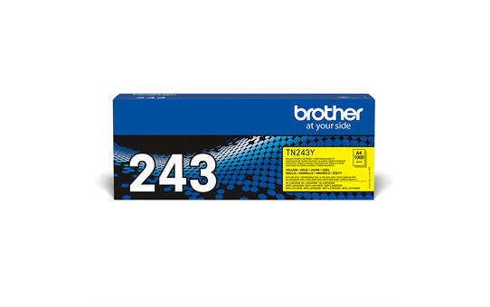 Brother TN243Y toner jaune - rendement standard