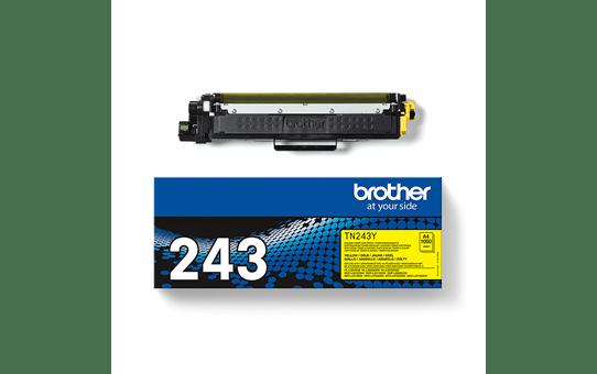 Brotherin alkuperäinen TN243Y-laservärikasetti - Keltainen 3