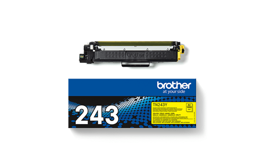 Genuine Brother TN-243Y Toner Cartridge - Yellow 3