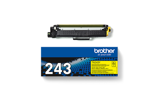 Cartouche de toner TN-243Y Brother originale – Jaune 3