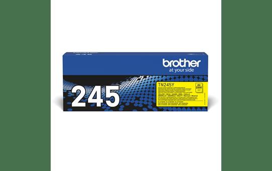Original Brother TN245Y høykapasitet toner – gul