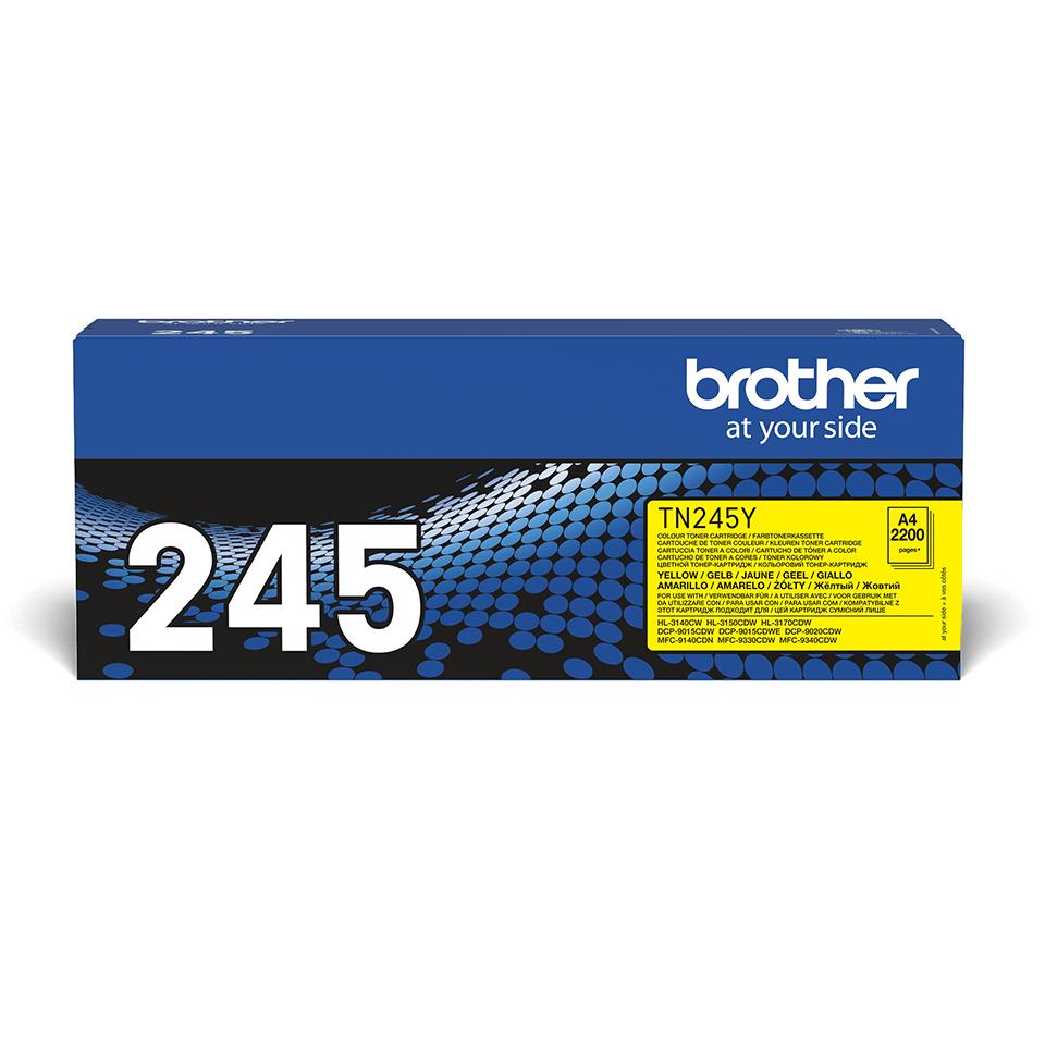 Original Brother TN245Y toner – gul