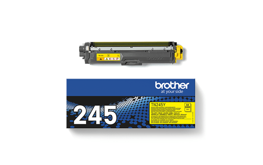 Cartouche de toner TN-245Y Brother originale – Jaune 3
