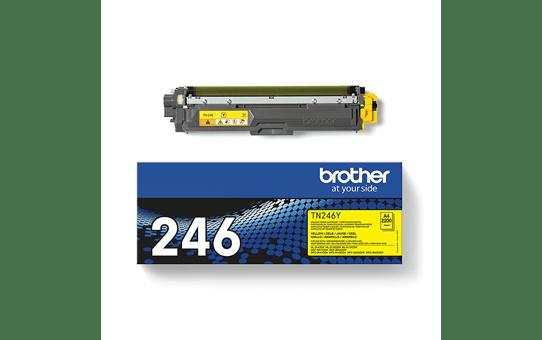 Brother TN-246Y Tonerkartusche – Gelb 3