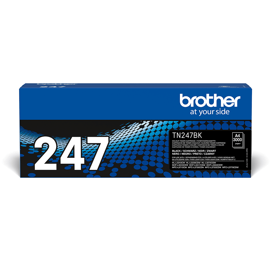 Toner preto TN247BK, Brother