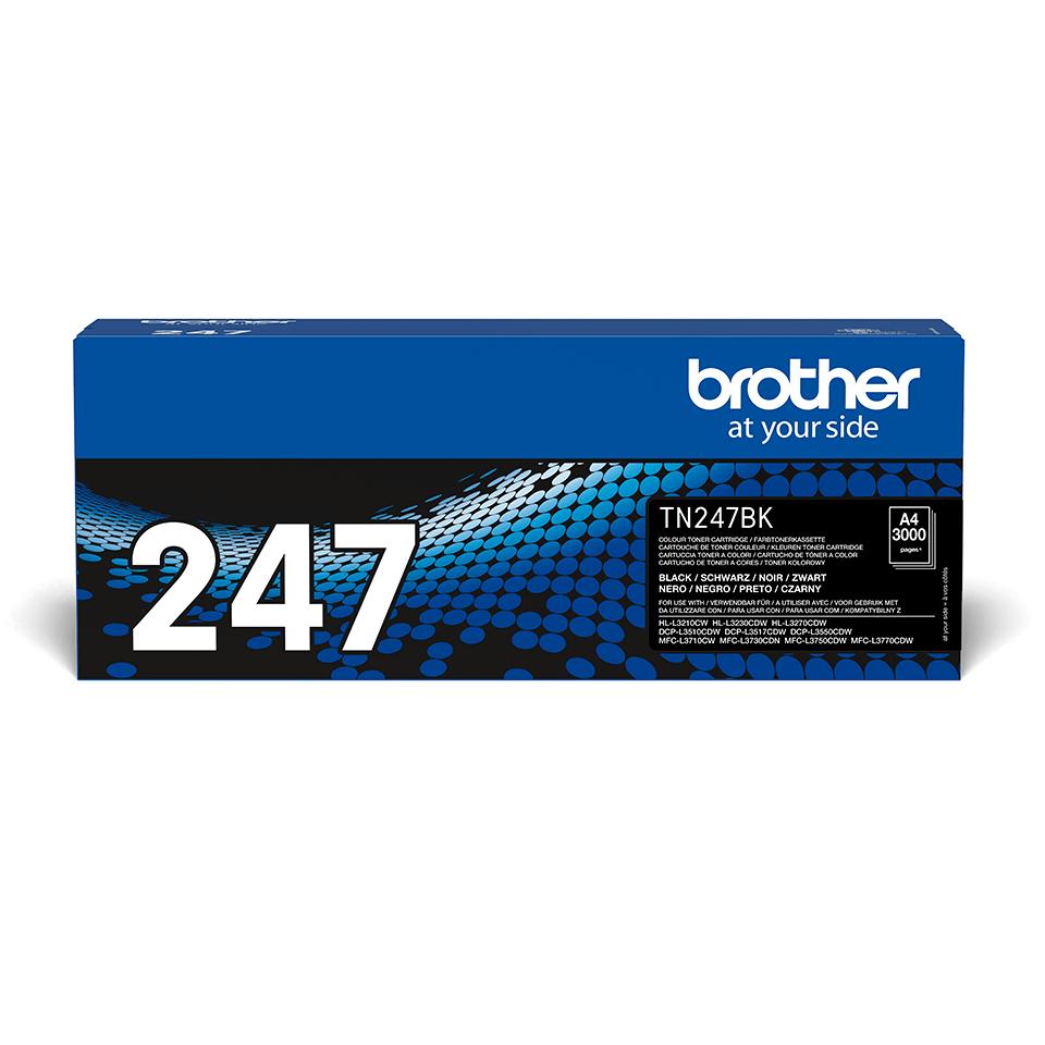Toner preto TN247BK, Brother