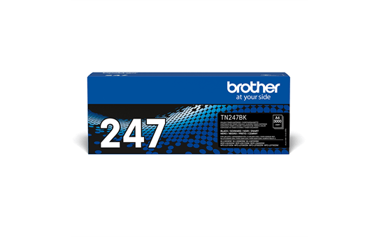 Original Brother TN247BK høykapasitet toner - sort