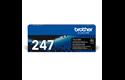 TN-247BK toner zwart - hoog rendement