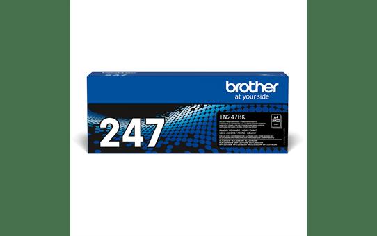 Originali Brother TN-247BK dažų kasetė - juodos spalvos