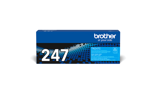 Original Brother TN-247C Tonerkassette – Cyan