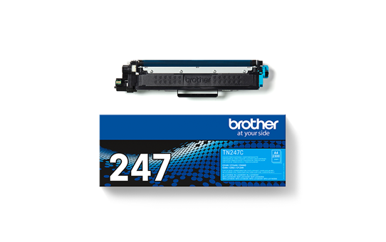 Genuine Brother TN-247C Toner Cartridge - Cyan 3