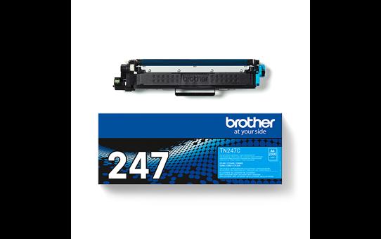 Genuine Brother TN-247C Toner Cartridge - Cyan 3