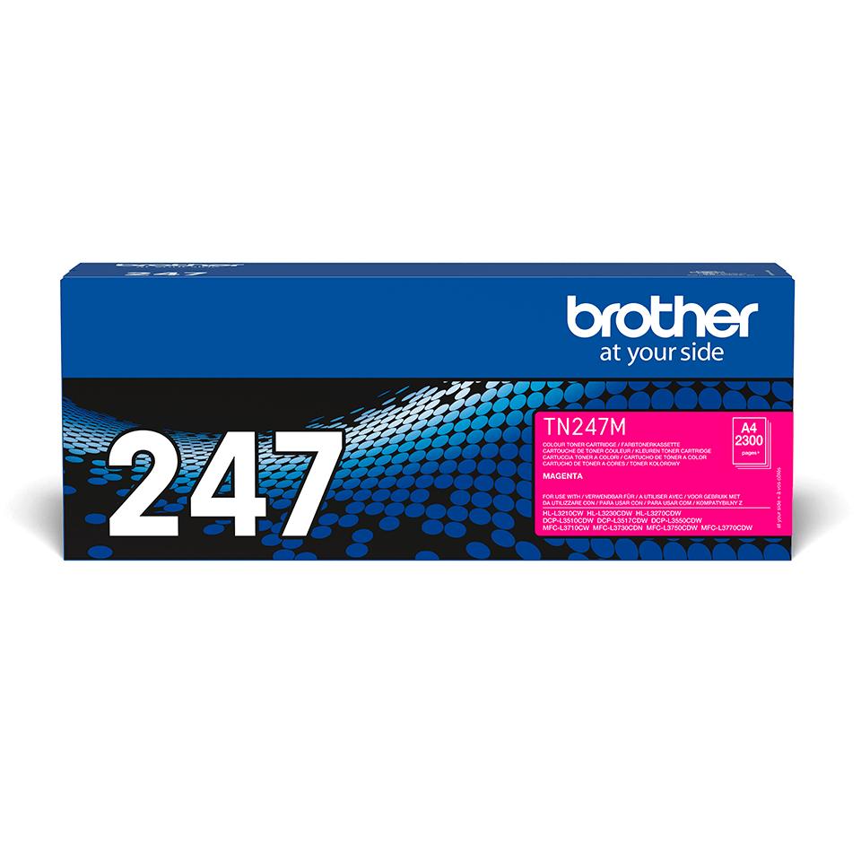 Toner magentaTN247M, Brother
