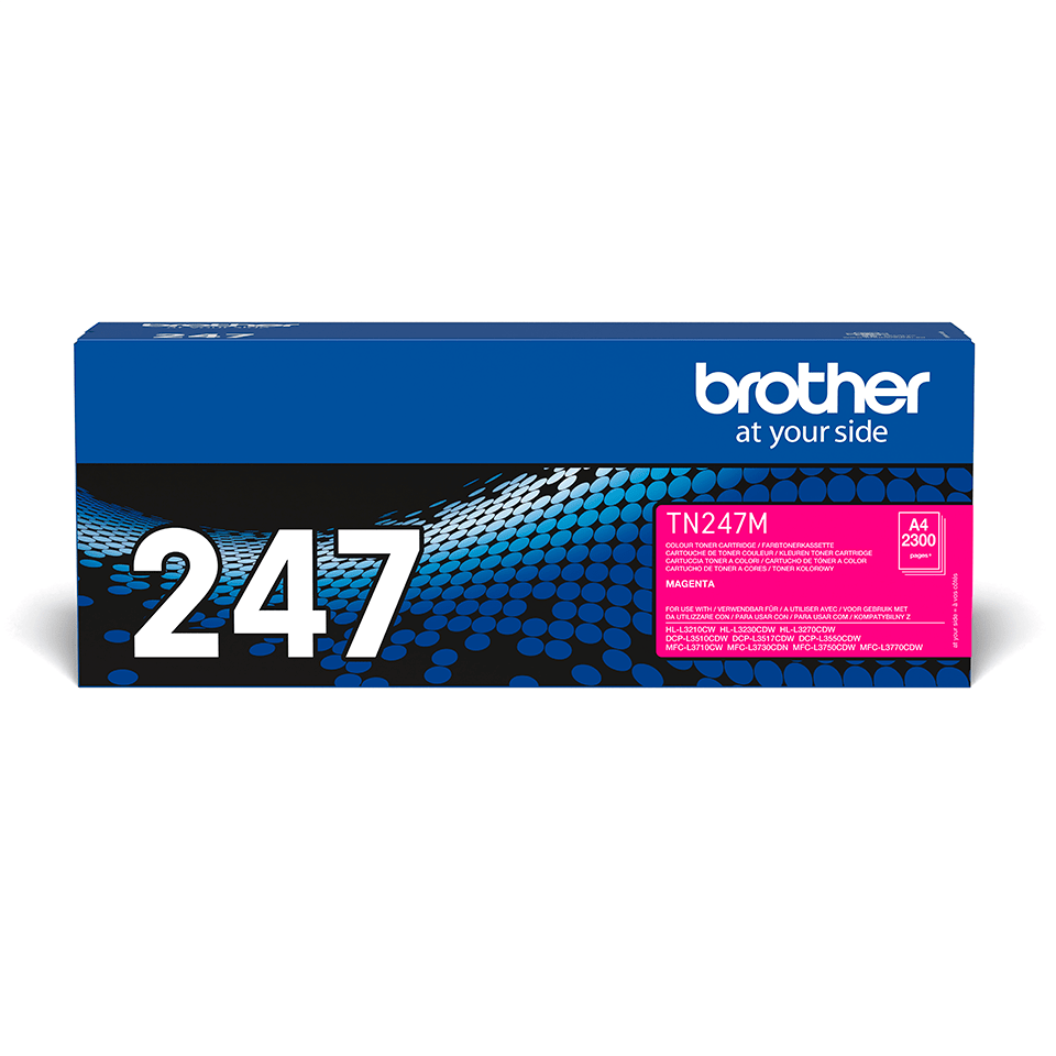 TN247M Brother genuine toner cartridge pack front image