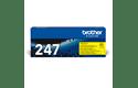 Оригинална тонер касета с голям капацитет Brother TN-247Y – жълт цвят