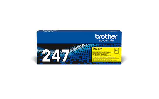 Brother TN-247Y Toner originale ad alta capacità - Giallo