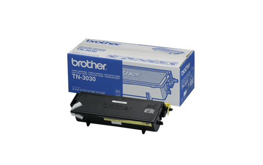Оригинална тонер касета с голям капацитет Brother TN3030 – черен цвят
