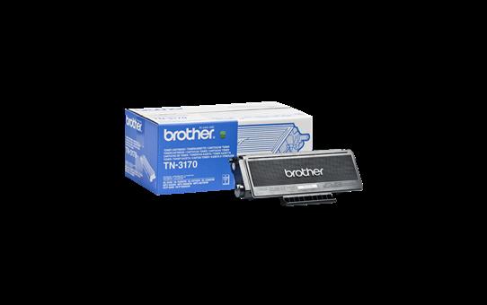 Оригинална тонер касета с голям капацитет Brother TN3170 – черен цвят
