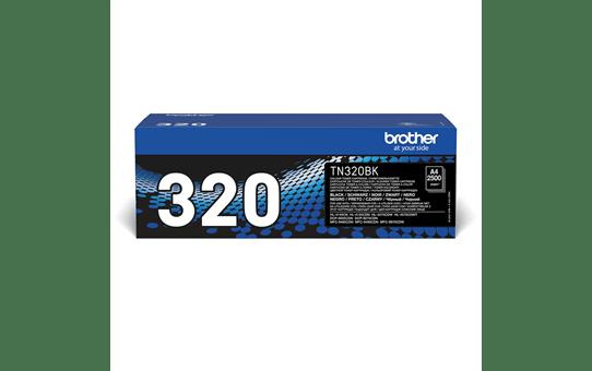 Genuine Brother TN-320BK Toner Cartridge – Black