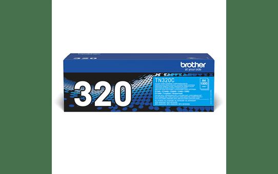 Originální tonerová kazeta Brother TN320C – azurová