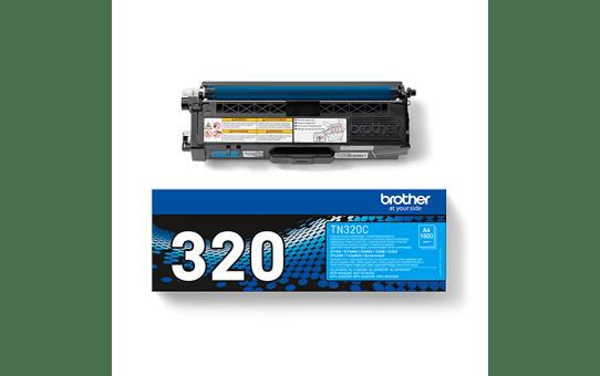 Brother TN-320C Tonerkartusche – Cyan 3