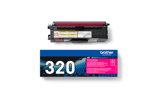 Genuine Brother TN-320M Toner Cartridge – Magenta 3