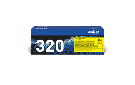 Genuine Brother TN-320Y Toner Cartridge – Yellow 2