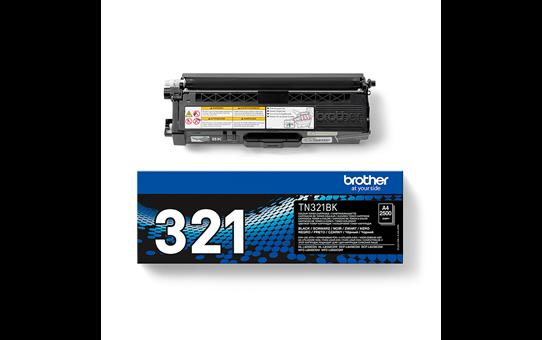 Brotherin alkuperäinen TN321BK-laservärikasetti – Musta 3