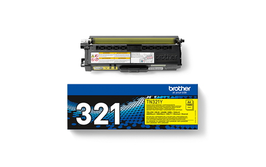 Genuine Brother TN-321Y Toner Cartridge – Yellow  2