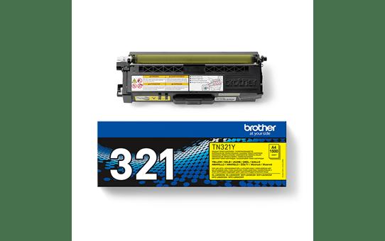 Genuine Brother TN-321Y Toner Cartridge – Yellow 3