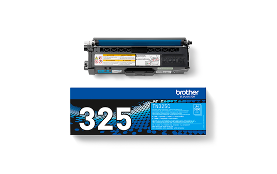 Genuine Brother TN325C Toner Cartridge – Cyan 3
