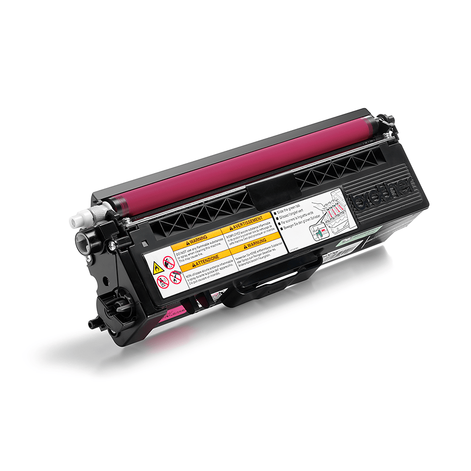 Brother TN325M toner magenta - haut rendement 2