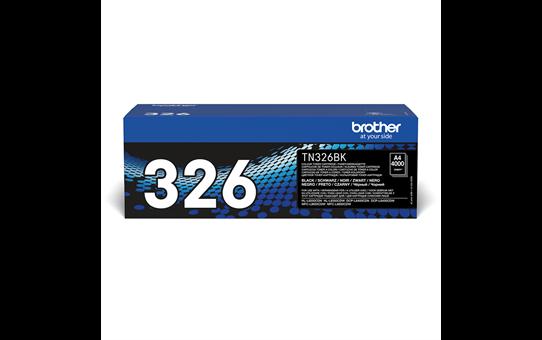 Brother TN-326BK Toner originale ad alta capacità - nero