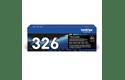 Genuine Brother High Yield TN326BK Toner Cartridge – Black