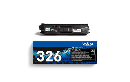 Brother TN326BK toner noir - haut rendement