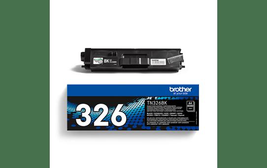 Brotherin alkuperäinen TN326BK-suurvärikasetti - Musta 3