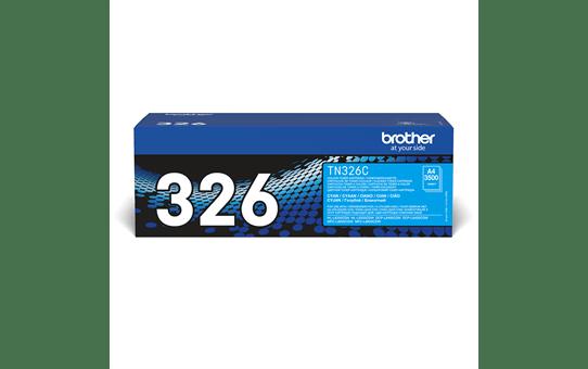 Original Brother TN326C høykapasitet toner – cyan